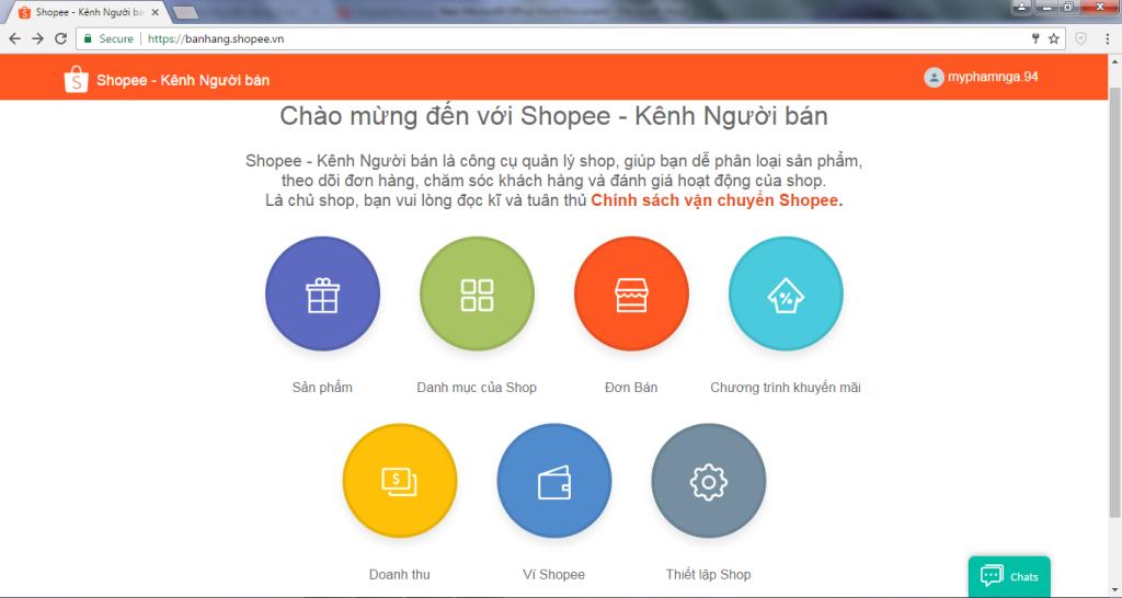 Hướng dẫn cách đăng ký bán hàng trên Shopee chi tiết cho người mới Thiết lập gian hàng