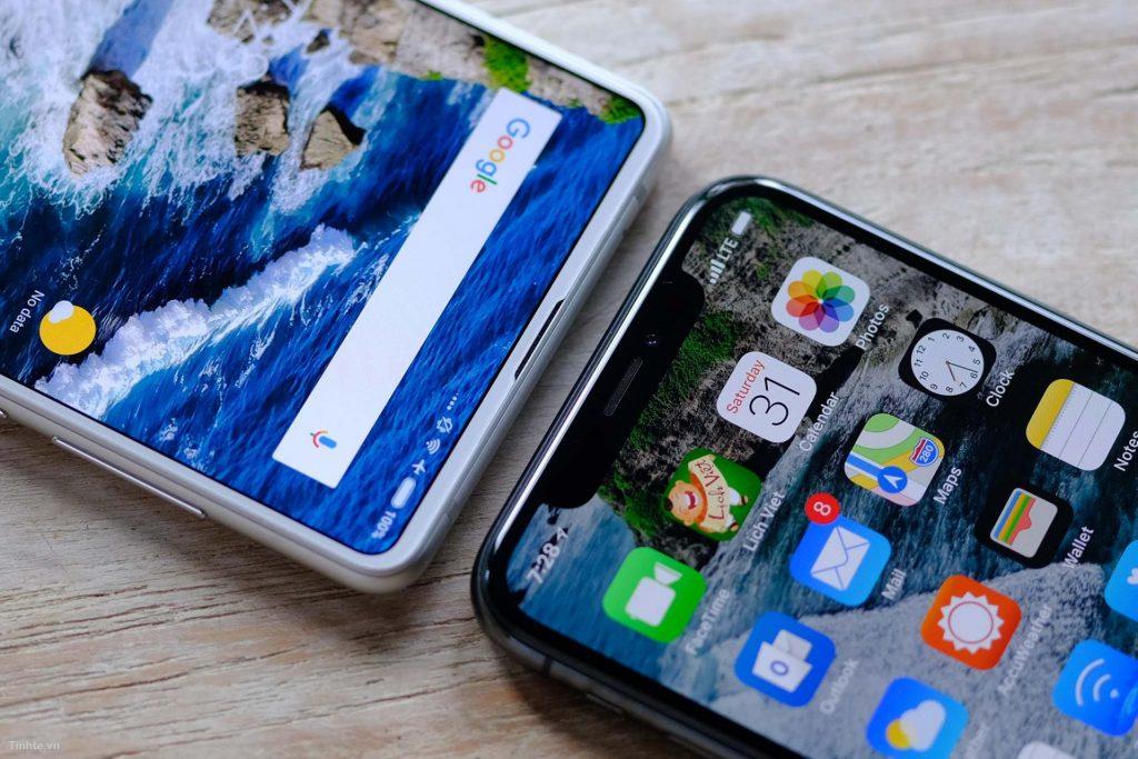 Xiaomi Mi Mix 2s không được trang bị tai thỏ
