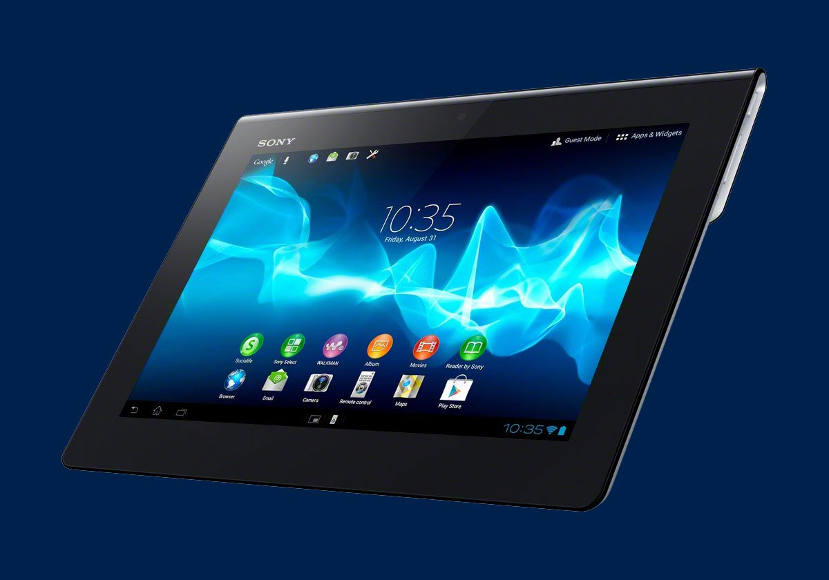 Xperia Tablet S như một cuốn sách