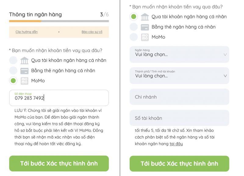 Hướng dẫn vay online Doctor Đồng