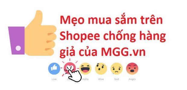 Mẹo mua sắm Shopee icon mgg