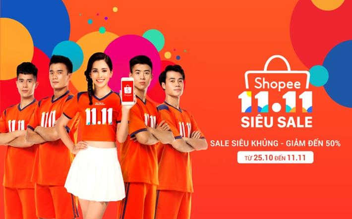 banner Shopee siêu sale siêu khủng mgg.vn