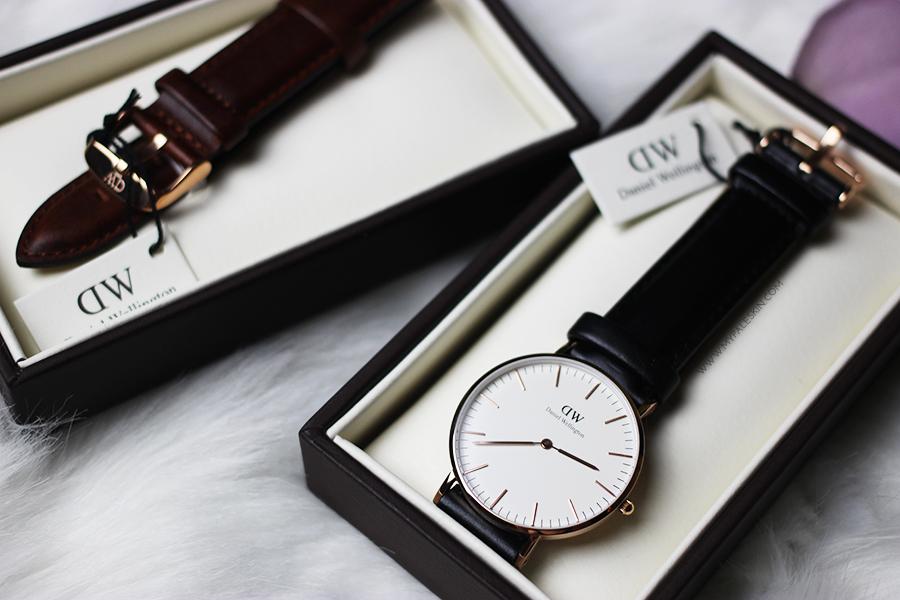 Hộp đồng hồ DW chính hãng