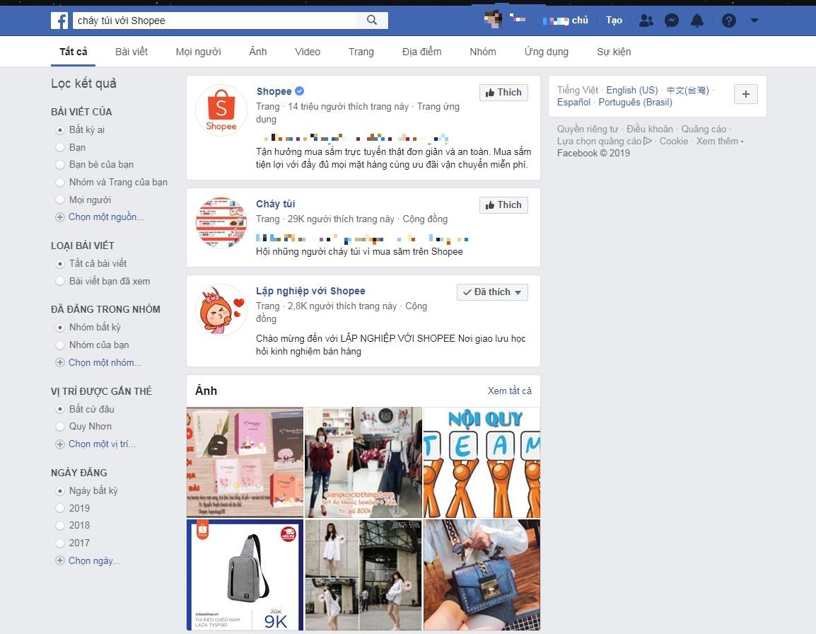 Các cách bán hàng hiệu quả trên Shopee, cháy túi với Shopee qua Facebook
