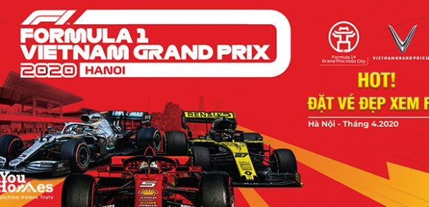 Hướng dẫn mua vé xem đua xe F1 Hà Nội
