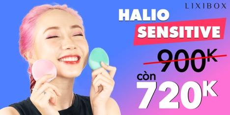 Khuyến mãi Máy rửa mặt Halio Sensitive