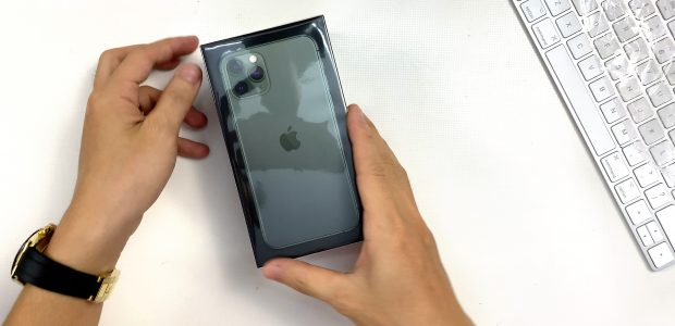 Mở hộp nhanh iPhone 11 Pro Chính Hãng VN/A ĐẶT MUA ONLINE ĐẦU TIÊN tại LAZADA