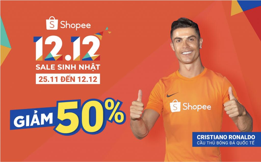 Shopee sieu sale 12 12 2019