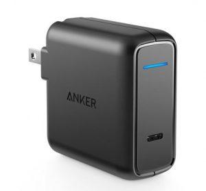 Củ sạc đơn Anker dùng cổng USB-C