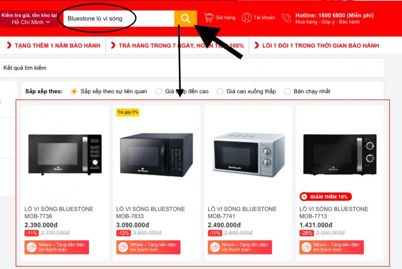 Hướng dẫn mua sắm trên Nguyenkim.com