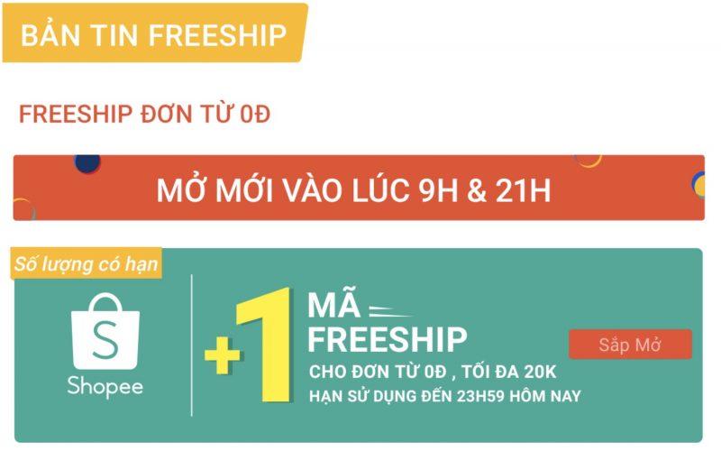 Mỗi ngày Freeship Shopee 0Đ Ngày Siêu Mua Sắm Shopee 9.9