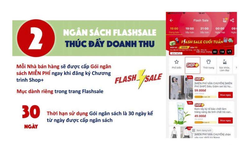 Hướng dẫn bán hàng Sendo, tham gia Flash Sale của Sendo thúc đẩy doanh thu bán hàng