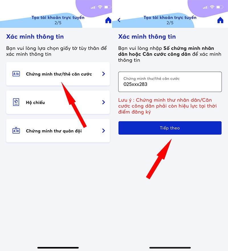 Hướng dẫn vay online MBBank