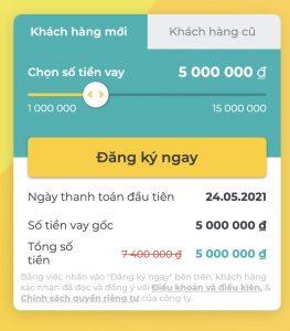 Hướng dẫn vay tín chấp online Tamo, vay tiêu dùng đến 15 triệu không cần thế chấp