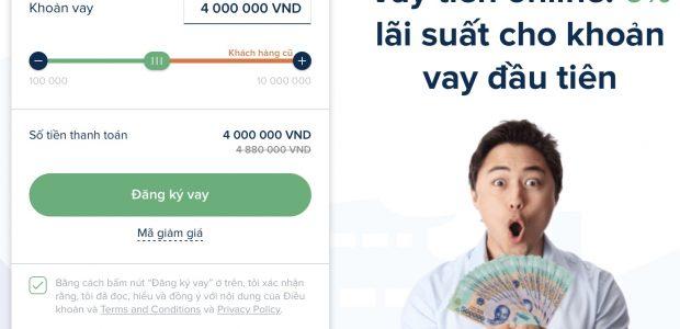 Hướng dẫn vay tiền online trên Senmo