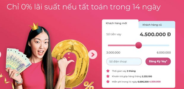 Vay ngay ATM Online, hỗ trợ 24/7, giải ngân nhanh trong 15 phút