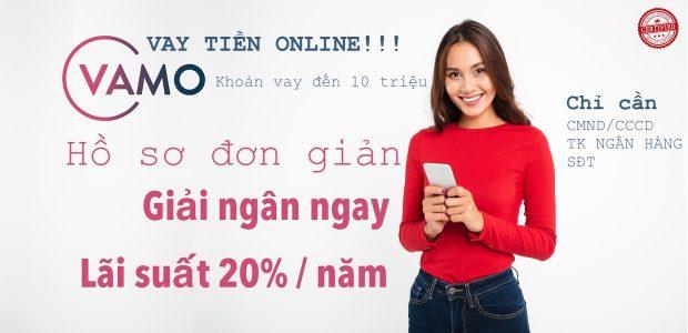 Hướng dẫn vay tiền online trên Vamo.vn
