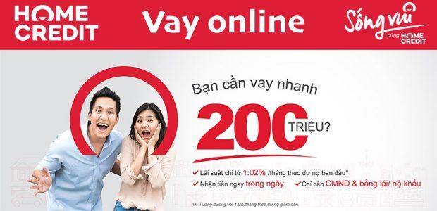 Vay online Home Credit